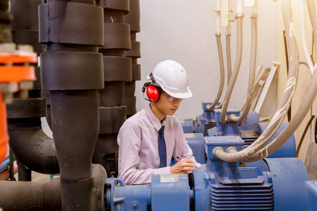 Industrial services; electric motor testing;